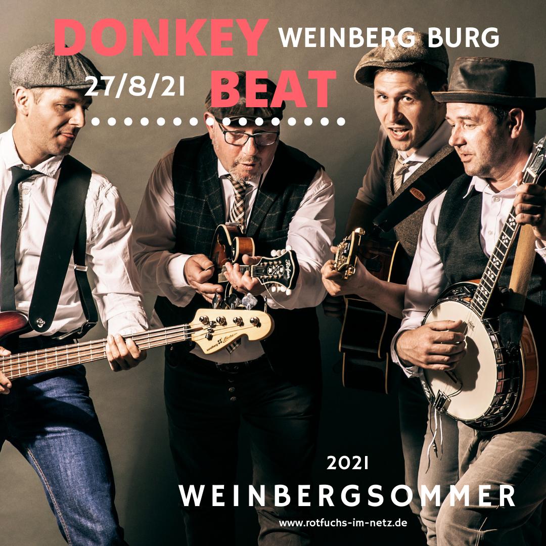 Donkey Beat am 27.08.2021
